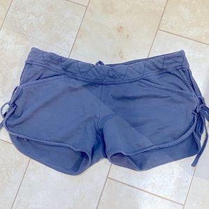 stella mccartney adidas grey cotton shorts sz 40